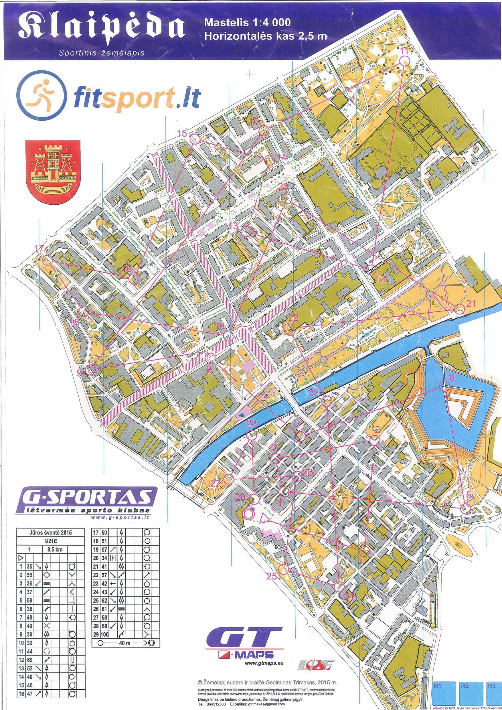 NuostataiEN - Klaipėda map